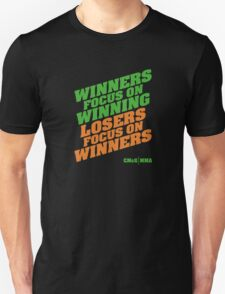 Conor McGregor - Quotes [Winners Tri] Unisex T-Shirt
