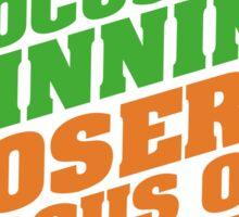 Conor McGregor - Quotes [Winners Tri] Sticker