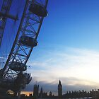 london silhouettes by cocosuspenders