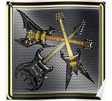 Black Dream Guitars  Poster