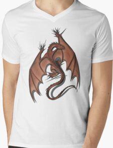Smaug on your shirt! Mens V-Neck T-Shirt