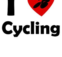 I Heart Cycling by kwg2200