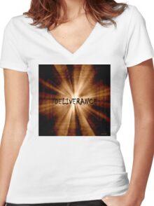 Deliverance Women's Fitted V-Neck T-Shirt