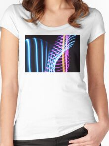 Light Painting Women's Fitted Scoop T-Shirt