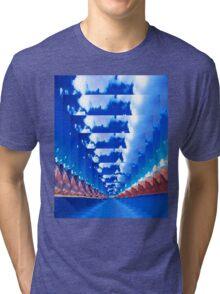 INFINITY LANDSCAPE Tri-blend T-Shirt