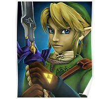 Twilight Princess Link Fan Art Print Poster