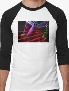 Light Painting Men's Baseball ¾ T-Shirt