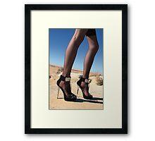 Desert Spikes Framed Print
