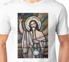 Jesus Hittin a Bong Unisex T-Shirt