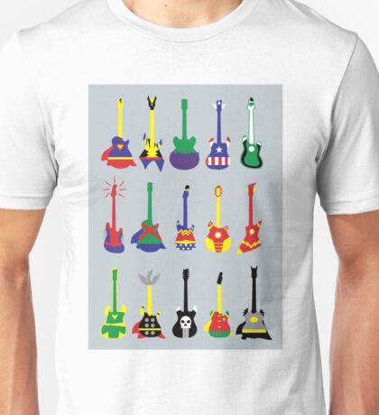 SuperGuitarHero Unisex T-Shirt