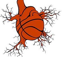 Heart of a BBall Player by broomfield