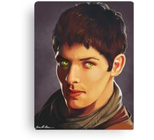 Merlin Colin Morgan Fan Art Print Canvas Print