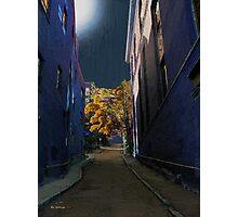 One Way Street Photographic Print