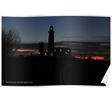 Lighthouse | Montauk Point, New York Poster