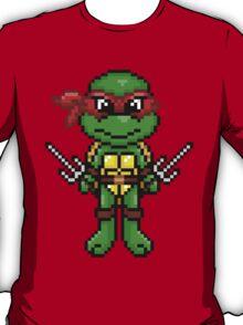 TMNT Raphael Pixel T-Shirt