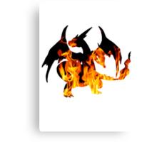Mega Charizard Y used Blast Burn Canvas Print