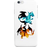 Mega Charizard X and Y used Blast Burn iPhone Case/Skin