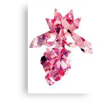Diancie used Diamond Storm Canvas Print