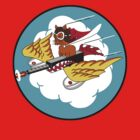301st Fighter Squadron Emblem by warbirdwear