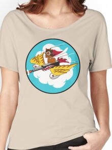 301st Fighter Squadron Emblem Women's Relaxed Fit T-Shirt