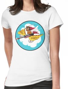 301st Fighter Squadron Emblem Womens Fitted T-Shirt