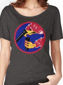 492d Fighter Squadron Emblem Women's Relaxed Fit T-Shirt