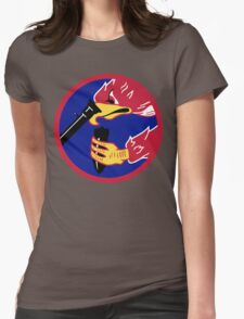 492d Fighter Squadron Emblem Womens Fitted T-Shirt