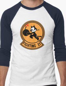 VFA-31 Fighting 31 Emblem Men's Baseball ¾ T-Shirt