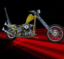 Retro Chopper Studio 3 by DaveKoontz