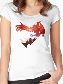 Yveltal used Oblivion Wing Women's Fitted Scoop T-Shirt