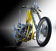 Retro Chopper Studio 1 by DaveKoontz