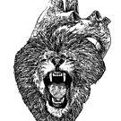 A Lion Heart Roars by BParsh