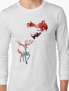 Xerneas vs Yveltal Long Sleeve T-Shirt