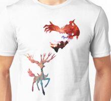 Xerneas vs Yveltal Unisex T-Shirt