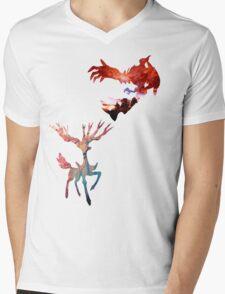 Xerneas vs Yveltal Mens V-Neck T-Shirt