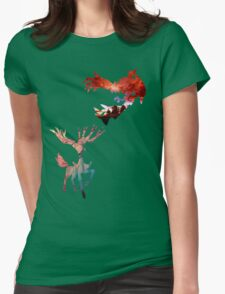 Xerneas vs Yveltal Womens Fitted T-Shirt