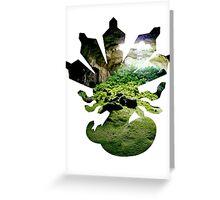 Zygarde used Camouflage Greeting Card