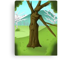 Trees Can Dance Canvas Print