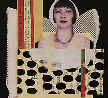 Lady in a White Cloche Hat by Glenyss Ryan
