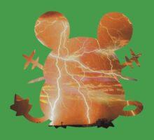 Dedenne used Thunder One Piece - Short Sleeve