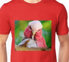 Galah preening Unisex T-Shirt