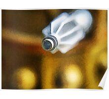 Dalek attack, the blast gun Poster