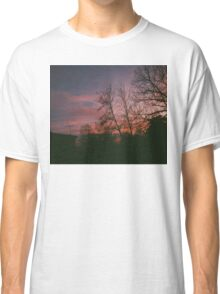 6:34, suburbs, winter Classic T-Shirt