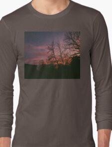 6:34, suburbs, winter Long Sleeve T-Shirt