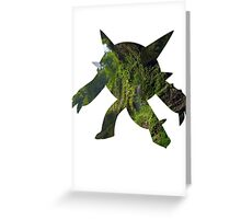 Chesnaught used Seed Bomb Greeting Card
