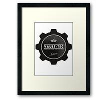 Fallout vault logo Framed Print