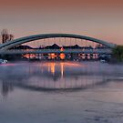 Misty Morning - Walton Bridge 2 by Colin  Williams Photography