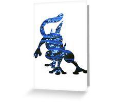 Greninja used Water Shuriken Greeting Card