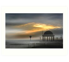 Bexhill seafront Art Print
