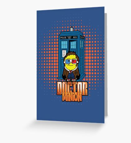 Doctor Minion 10 Greeting Card